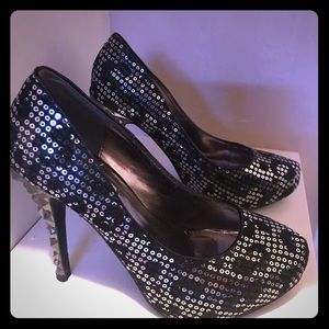 Shoes - Gorgeous Selina sequined heels!